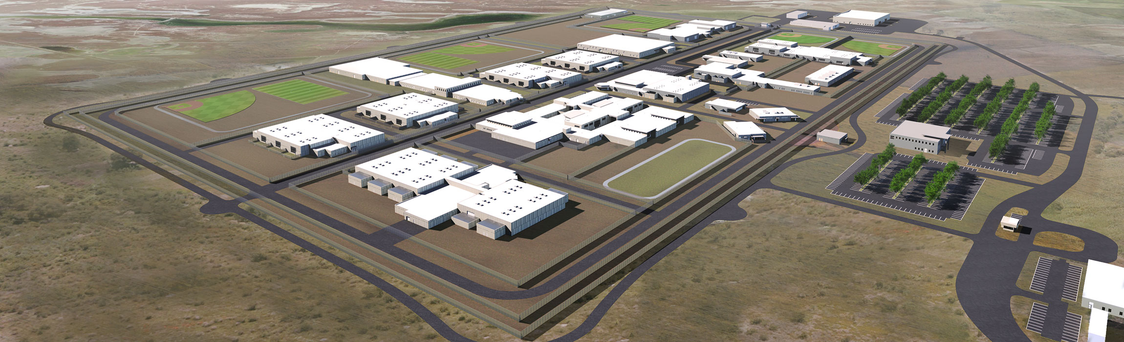 New Utah State Correctional Facility Rendering from May 9, 2018